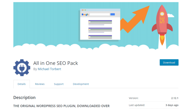 wordpress seo plugin all in one seo pck