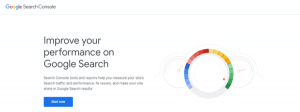 google search console to fix bug of your website